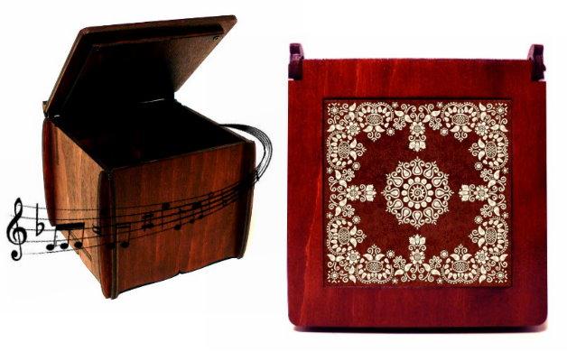 Zenélő dobozok