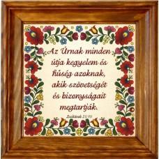 Igés-Falikép-Az Úrnak minden útja