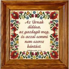 Igés-Falikép-Az Úrnak áldása