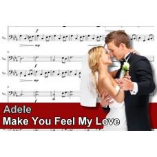 Zenélő doboz Adele Make You Feel My Love