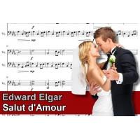 Zenélő doboz Edward Elgar Salut dAmour