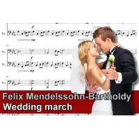 Zenélő doboz Felix Mendelssohn Bartholdy Wedding March