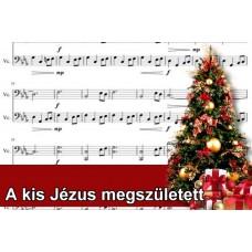 Zenélő doboz A kis Jézus megszületett