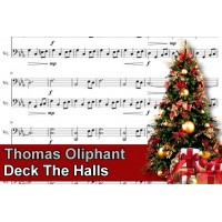 Zenélő doboz Thomas Oliphant Deck The Halls