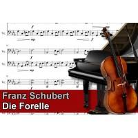 Zenélő doboz Franz Schubert Die Forelle