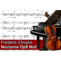 Zenélő doboz Frederic Chopin Nocturne