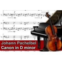 Zenélő doboz Johann Pachelbel Canon