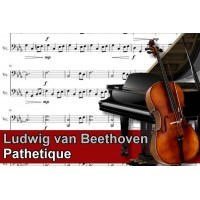 Zenélő doboz Ludwig van Beethoven Pathetique