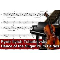Zenélő doboz Pyotr Ilyich Tchaikovsky Dance of the Sugar Plum Fairies
