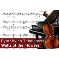 Zenélő doboz Pyotr Ilyich Tchaikovsky Waltz of the Flowers