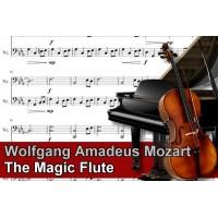 Zenélő doboz Wolfgang Amadeus Mozart The Magic Flute
