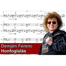 Zenélő doboz Demjén Ferenc Honfoglalás