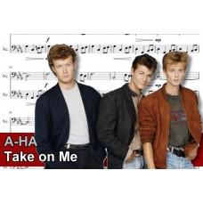 Zenélő doboz A-Ha Take On Me