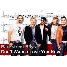 Zenélő doboz Backstreet Boys Don't Wanna Lose You Now