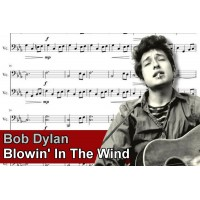 Zenélő doboz Bob Dylan Blowin' In The Wind