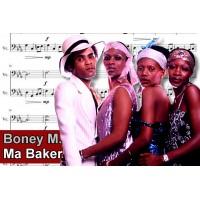 Zenélő doboz Boney-M Ma Baker