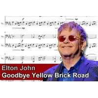 Zenélő doboz Elton John Goodbye Yellow Brick Road