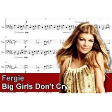 Zenélő doboz Fergie Big Girls Don't Cry