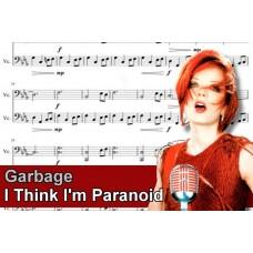 Zenélő doboz Garbage I Think I'm Paranoid