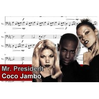 Zenélő doboz Mr President Coco Jambo