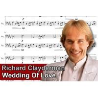 Zenélő doboz Richard Clayderman Wedding of Love