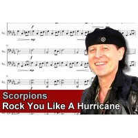Zenélő doboz Scorpions Rock You Like A Hurricane
