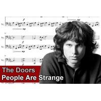 Zenélő doboz The Doors People Are Strange